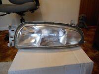 Ford fiesta mk4 front pasenger side headlight