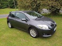 2007 TOYOTA AURIS 2.0 D-4D TR 3DR MOT JULY 2017 SERVICE HISTORY 2 KEEPERS DRIVES GREAT PX WELCOME