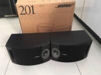 Pair of Bose 201 speakers