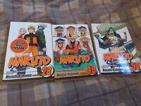 Naruto Manga 28, 49, 50