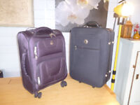 CASES - 2 small pull along travel cases for £10 for both
