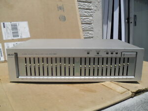 Vintage Akai EA-G90 Stereo Graphic Equalizer Made In Japan