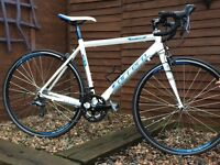 Carrera Virtuoso 16 speed road bike for sale with optional extra new ladies kit - see list of items