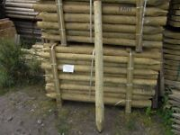 Fence Post 75mm-100mmx5.6ft long