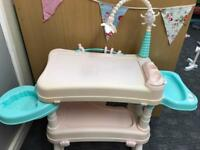 Baby Annabelle changing station