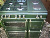 70cm range duel fuel cooker