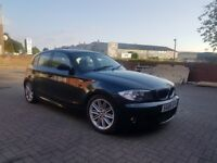 2008 BMW 116I M SPORT,5DR,HATCHBACK,6 SPEED MANUAL,SPARES OR REPAIRS,DOES DRIVES