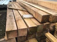 🌲 *New* Wooden/ Timber Posts 2.35m x 85mm x 85mm