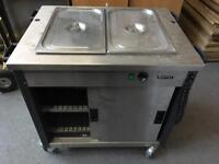 MOFFAT GM2 Mobile Bain Marie, Hot Cupboard