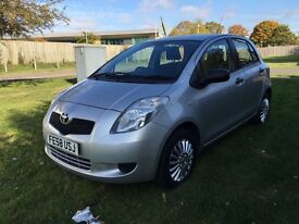 2008 Toyota Yaris 999cc 5dr 1Owner Full Service History 1Year MOT Hpi Clear P/X Welcome