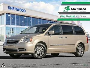 2016 Chrysler Town & Country Touring-Leather/Roof/Dual DVDs & NA