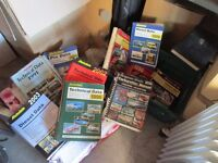 Technical Data Manuals (13) see photos for details Retirement sale Space Needed!