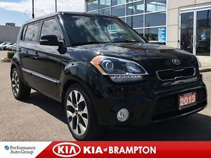 2013 Kia Soul 4U LUXURY NAVIGATION LEATHER SUNROOF LOADED!!