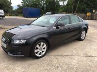 New Shape 2008 Audi A4 2.0 TDI 143bhp **Full Years MOT** *6 mth Warranty* (320d,c220,passat)