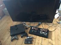 Entertainment Package. Excellent Condition. 3D Smart TV, XBOX ONE, 3D Blu Ray DVD Player, Controls