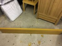 Ikea Lack Shelf Oak 190CM