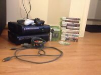 Faulty 2x Xbox 360 consoles, 18 games