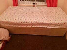 single divan and mattress