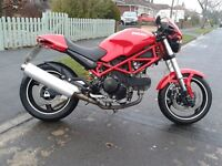 Ducati Monster 695 not 696 or 750