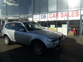 DIESEL!! 2006 56 BMW X3 2.0 D SE 5d 148 BHP DIESEL **** GUARANTEED FINANCE **** PART EX WELCOME