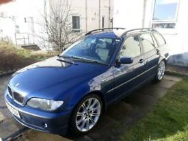 05 BMW E46 320D touring estate may swap