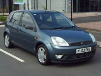 2003 03 FORD FIESTA 1.4 ZETEC 5DR-*IMMACULATE CONDITION*- FSH - 12 MONTHS MOT - IDEAL FIRST CAR- PX