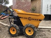 ONLY USED ONCE LUMAG MD300R Belle 4x4 MINI DUMPER TRUCK