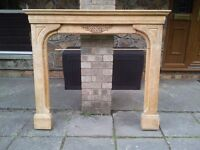 Fire Surround and Mantle (Wood).