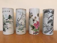 Four Antique Chinese Vases