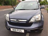 Honda CR-V excellent condition 2008 complete with Towbars and electrics