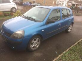 03 Renault Clio 1.2 great little car