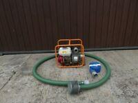 "2"" Koshin Trash Water Pump with Honda GX120 Petrol Engine"