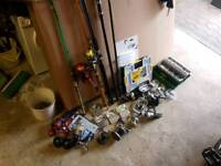 Joblot fishing gear