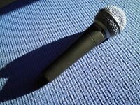 Shure microphone SM58 excellent condition for singing/talking excellent condition