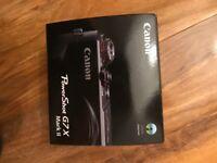Brand New - Canon Powershot G7X Mark II