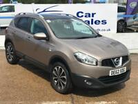 NISSAN QASHQAI 1.6 N-TEC PLUS 5d 117 BHP A GREAT EXAMPLE INSIDE AND OUT (beige) 2013
