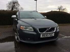 VOLVO V50 R Design SE diesel manual 13 stamps , fsh , 2 owners