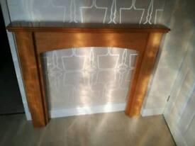 Fireplace surround kit