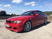 Bmw 320 cd m sport imola red full black heated leather lots of extras