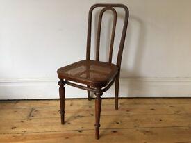 Antique Thonet Austria Bentwood Dining Chair No 41 Rattan Seat