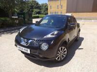 Nissan Juke Tekna Xtronic 5dr (black) 2014