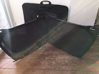 Audi A5 wind deflector with carry case