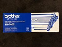 Brother Laser Printer Cartridge - Genuine Brother Black Toner, Brand New, Unopened.