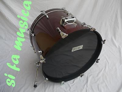 TAMBURO T5 grancassa batteria 22 x 16 in Frassino Mersawa + soft bag (bass drum)