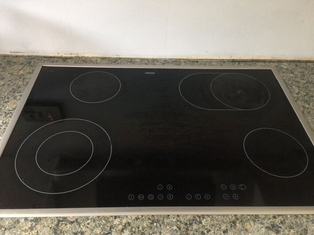 Zanussi 5 ring ceramic electric hob.