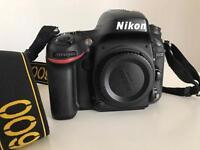 Camera Nikon D600 with the Warranty