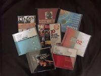 Selection of movie soundtrack CD's