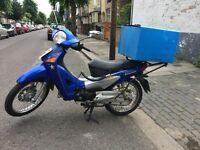honda anf 125 cc 2007 sameautomatic scooter