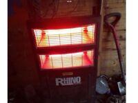 Birch wood Rhino 2.8kw heater.
