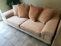 Large 3 seater sofa. Hardly used just kept in a walk through room.